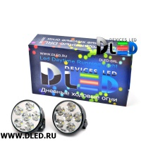 ДХО DLed DRL-158 SMD5050 2x3W